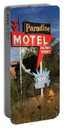 Route 66 - Paradise Motel Portable Battery Charger