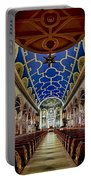 Saint Michael Church Portable Battery Charger by Susan Candelario