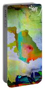 San Jose Map And Skyline Portable Battery Charger