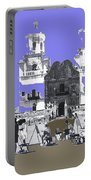San Xavier Mission Sketched By Art Students C. 1930 Tucson Arizona Portable Battery Charger