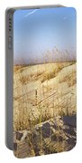 Sand Dunes On The Beach, Anastasia Portable Battery Charger