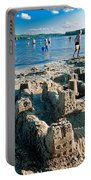 Sandcastle On The Beach Portable Battery Charger