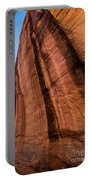 Sandstone Varnish Cliff - Coyote Gulch - Utah Portable Battery Charger