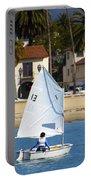 Santa Barbara Harbor Yacht Race Portable Battery Charger