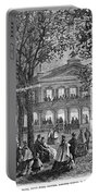 Saratoga Springs, 1865 Portable Battery Charger