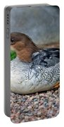 Scaly-sided Merganser Hen Portable Battery Charger