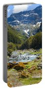 Scenic Valley In New Zealand Portable Battery Charger