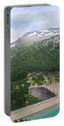 Schlegeis Dam And Reservoir  Portable Battery Charger