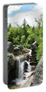 Screw Auger Falls At Grafton Notch State Park  Portable Battery Charger