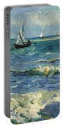 Seascape Near Les Saintes-maries-de-la-mer Portable Battery Charger