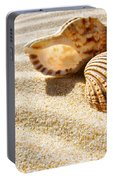 Seashell And Conch Portable Battery Charger