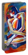 Seated Figure Portable Battery Charger