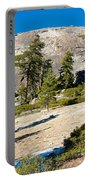 Sentinel Dome From Sentinel Dome Trail In Yosemite Np-ca  Portable Battery Charger