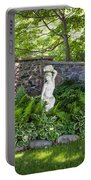 Shady Perennial Garden Portable Battery Charger