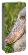 Shoebill Balaeniceps Rex Uganda Africa Portable Battery Charger
