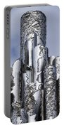 Sibelius Pipe Monument - Helsinki Finland Portable Battery Charger