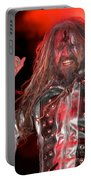Singer Rob Zombie Portable Battery Charger