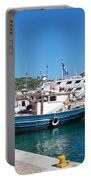 Skiathos Town Harbour Portable Battery Charger