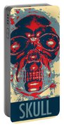 Skull In Hope Portable Battery Charger