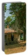 Slave Quarters  Portable Battery Charger by Steve Harrington