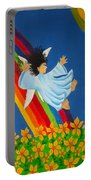 Sliding Down Rainbow Portable Battery Charger