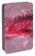 Gyotaku Snapper Portable Battery Charger by Captain Warren Sellers