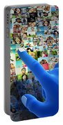 Social Media Network Portable Battery Charger