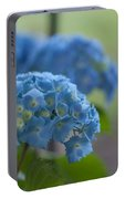 Soft Blue Hydrangea Portable Battery Charger