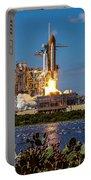Space Shuttle Atlantis Launch Portable Battery Charger