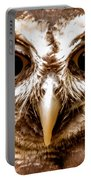 Spectacled Owl  Portable Battery Charger