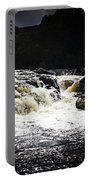 Splashing Australian Water Stream Or Waterfall Portable Battery Charger