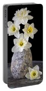 Spring Daffodils Portable Battery Charger by Edward Fielding