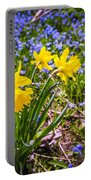 Spring Wildflowers Portable Battery Charger