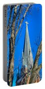 St. Marys Church Steeple Of St Marys Church Portable Battery Charger