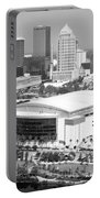 St. Pete Times Forum And Tampa Skyline Portable Battery Charger