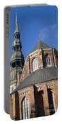 St. Peter's Church Riga Portable Battery Charger
