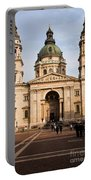 St Stephen's Basilica In Budapest Portable Battery Charger