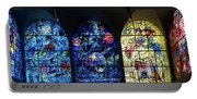 Stained Glass Chagall Windows Portable Battery Charger