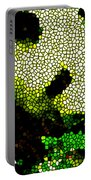 Stained Glass Panda 2 Portable Battery Charger