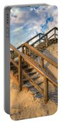 Stairway To Heaven Portable Battery Charger by Debra and Dave Vanderlaan