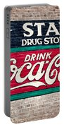 Star Drug Store Wall Sign Portable Battery Charger