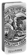 State Seal Illinois Portable Battery Charger
