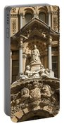 Statue Of Queen Victoria At Town Hall Of Sydney Australia Portable Battery Charger
