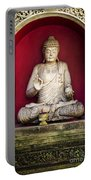 Stone Statue Of Buddha In Bali Indonesia Portable Battery Charger