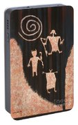 Stories In Stone Portable Battery Charger