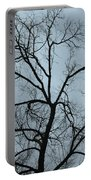 Stormy Trees Portable Battery Charger