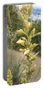 1 String Flowers    Photographed Las Vegas May 2014 Portable Battery Charger