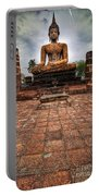 Sukhothai Buddha Portable Battery Charger by Adrian Evans