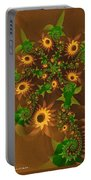 Summer's Last Sunflowers Portable Battery Charger