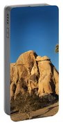 Sunset At Joshua Tree National Park Portable Battery Charger